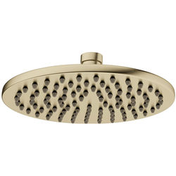 Crosswater MPRO Round Shower Head 200mm (Brushed Brass).