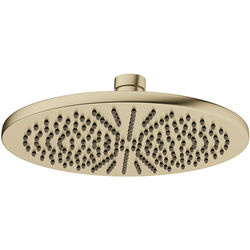 Crosswater MPRO Round Shower Head 300mm (Brushed Brass).