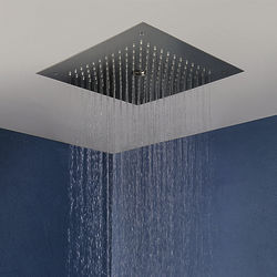 Crosswater MPRO Stream Shower Head (Brushed Stainless Steel).