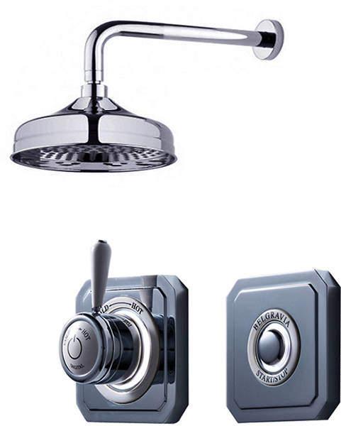 Crosswater Belgravia Digital Digital Shower Valve Pack 7 (L-Head, HP).
