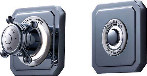 Crosswater Belgravia Digital Digital Shower Valve & Remote (X-Head, HP).