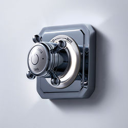 Crosswater Belgravia Digital Single Outlet Digital Shower Valve (X-Head, LP).