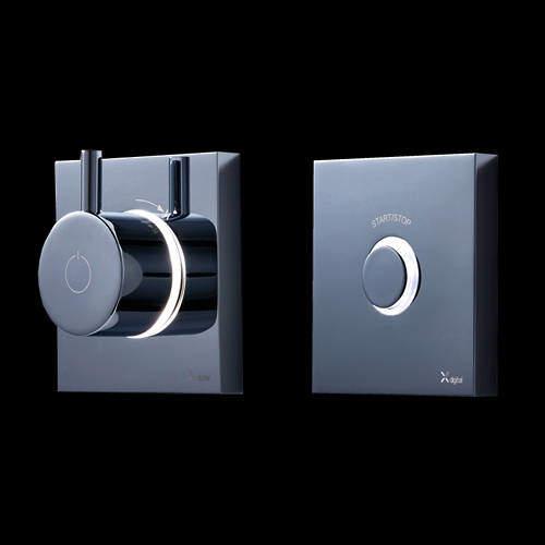 Crosswater Kai Digital Showers Digital Shower Valve With Remote (HP).