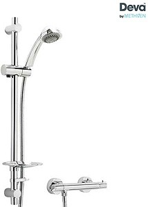 Deva Combi Thermostatic Bar Shower Valve With Multi Mode Kit (Chrome).