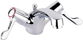 """Deva Lever Action 3"""" Lever Mono Basin Mixer Tap With Pop Up Waste."""