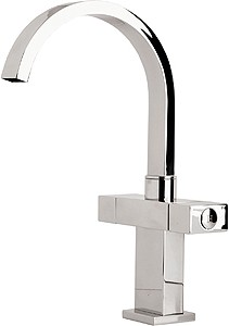 Deva Edge Kitchen Tap With Swivel Spout.