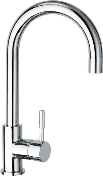 Deva Vision Vision Monoblock Kitchen Sink Mixer with Arched Spout.