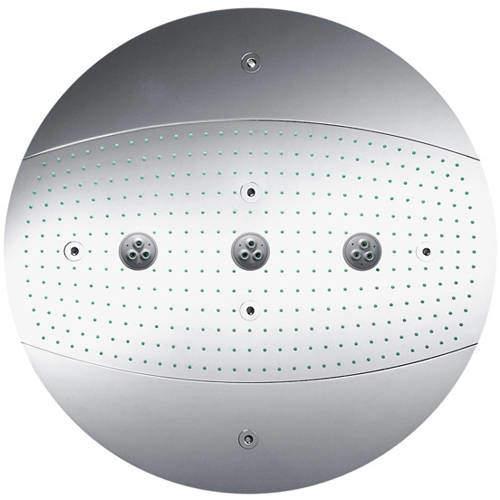 Hansgrohe Raindance Rainmaker 3 Jet Shower Head (600mm, Chrome).