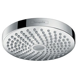 Hansgrohe Croma Select S 180 2 Jet Shower Head (180mm, Chrome).