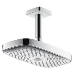 Hansgrohe Raindance E 300 2 Jet Eco Shower Head (300x160mm, Chrome).