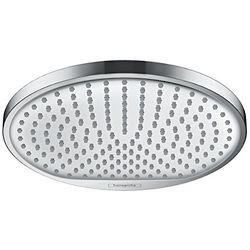 Hansgrohe Crometta S 240 1 Jet Shower Head (240mm, Chrome).