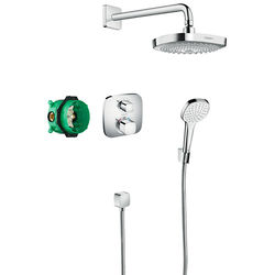 Hansgrohe Design Shower Set & Croma Select E / Ecostat E.