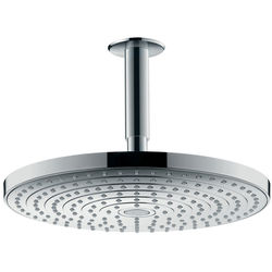 Hansgrohe Raindance S 300 2 Jet Shower Head & Arm (300mm, Chrome).