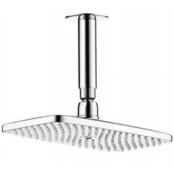 Hansgrohe Raindance E 240 1 Jet Shower Head & Ceiling Arm (250x150mm).