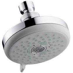 Hansgrohe Croma 100 Multi 3 Jet Shower Head (100mm, Chrome).