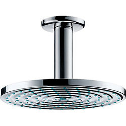 Hansgrohe Raindance S 180 Air 1 Jet Shower Head & Arm (180mm, EcoSmart).