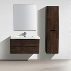 Italia Furniture Bali Bathroom Furniture Pack 01 (Chestnut).