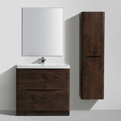 Italia Furniture Bali Bathroom Furniture Pack 02 (Chestnut).