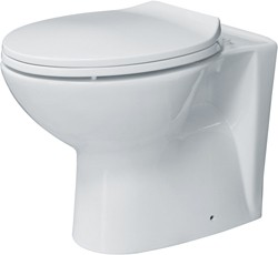 Hydra Back To Wall Toilet With Seat. Horizontal Outlet.  Size 360x530mm.