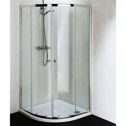 Oxford 900mm Quadrant Shower Enclosure With Stone Resin Tray (4mm).