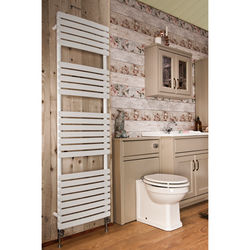 Oxford Orchid Towel Radiator 1700x500mm (White).