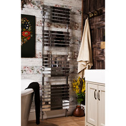 Oxford Orchid Towel Radiator 1700x500mm (Chrome).