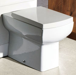 Oxford Daisy Lou Back To Wall Toilet Pan & Soft Close Seat.