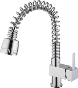 Hydra Hannah Kitchen Tap With Pull Out Spray Rinser (Chrome).