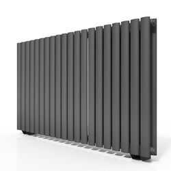 Oxford Celsius Double Panel Radiator 633x1180mm (Anthracite).
