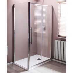 Oxford 1400x900mm Shower Enclosure With Sliding Door (8mm Glass).