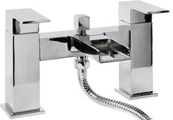 Hydra Waterfall Waterfall Bath Shower Mixer Tap With Shower Kit (Chrome).