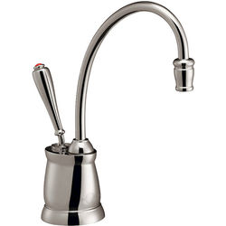 InSinkErator Hot Water Tuscan Steaming Hot Water Kitchen Tap (Chrome).