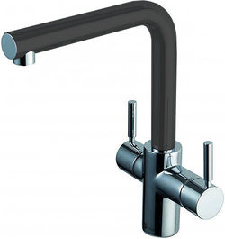 InSinkErator Hot Water Boiling Hot & Cold Water Kitchen Tap (Anthracite).