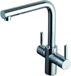 InSinkErator Hot Water Boiling Hot & Cold Water Kitchen Tap (Chrome).