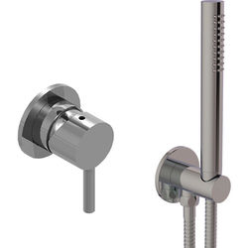 JTP Inox Concealed Shower Valve & Shower Kit (Stainless Steel).