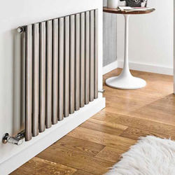 Kartell K-RAD Aspen Radiator 800W x 600H mm (Single, Stainless Steel).