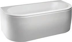 Hydra Delta Freestanding Bath With Panel. 1700x800mm.