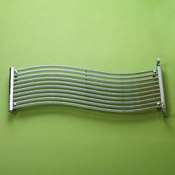 Kartell K-RAD Miami Heated Towel Rail 1400W x 450H mm (Chrome).