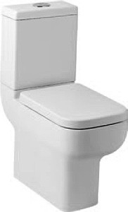 Hydra Comfort Height Toilet With Cistern & Soft Close Seat.