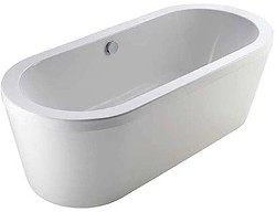 Hydra Vision Freestanding Bath With Full Panel. 1700x800mm.