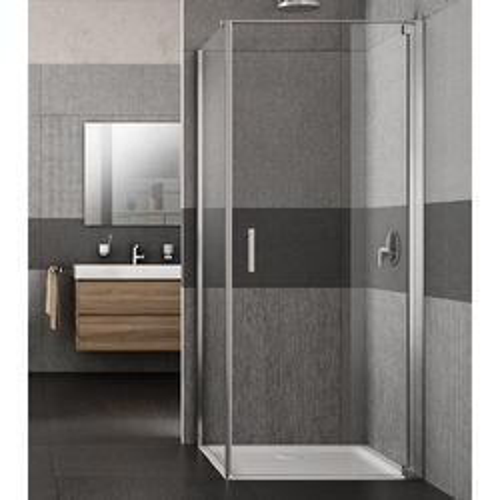 Lakes Italia Vivo Shower Enclosure With Pivot Door (800x900x2000mm, RH).