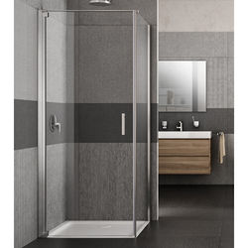 Lakes Italia Vivo Shower Enclosure With Pivot Door (900x700x2000mm, LH).