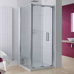 Lakes Coastline Bergen Shower Enclosure With Bi-Fold Door (750x700x2000).