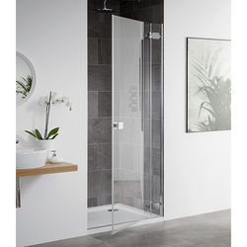 Lakes Island Barbados Frameless Hinged Shower Door (750x2000mm).