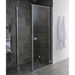 Lakes Island Grenada Frameless Shower Enclosure (800x750x2000).