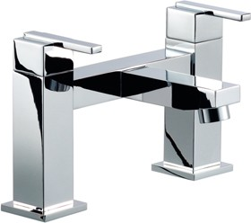 Mayfair Ice Quad Lever Bath Filler Tap (Chrome).