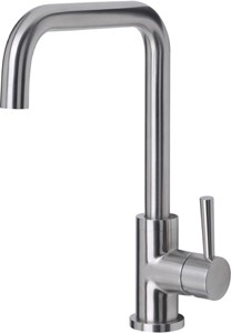 Mayfair Kitchen Melo Kitchen Tap With Swivel Spout (Stainless Steel).