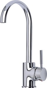 Mayfair Kitchen Tidal Kitchen Mixer Tap With Swivel Spout (Chrome).