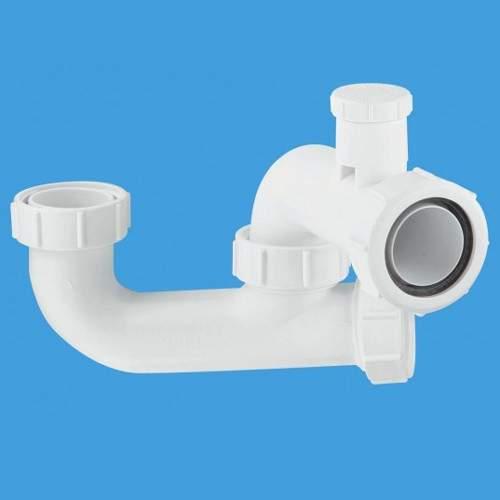"McAlpine Bath Traps 1 1/2"" x 50mm Seal Bath Trap, Cleaning Eye & Anti-Syphon."