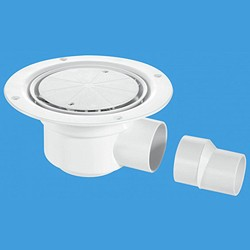 McAlpine Gullies 50mm Shower Trap Gully For Sheet Flooring.